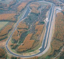 下川コースの森林