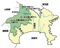 水源の森林エリア