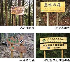「水源林パートナー制度」での取組み事例
