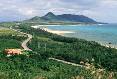 石垣島の玉取展望台と潮害防備保安林