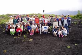 2007年6月 富士山植樹参加者